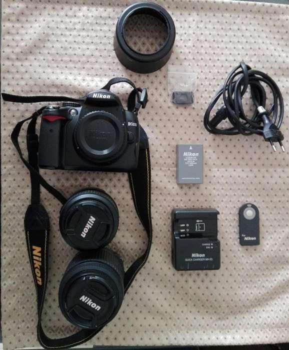 Venta de Camara Nikon D5000