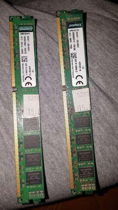 Memoria Pc Ddr3 8gb 1600mhz 1.5v Kingston