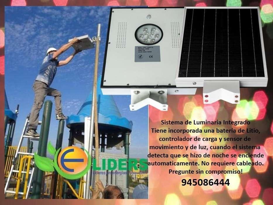 Sistema de iluminacion integrado