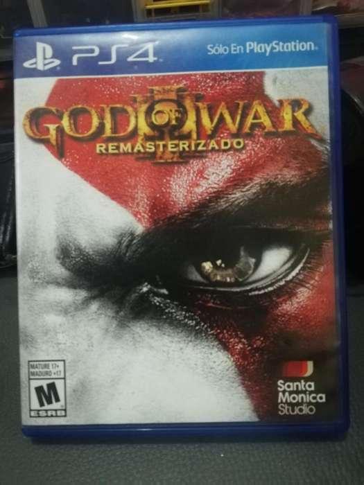 Vendo O Cambio Juego Ps4 God Of War 3