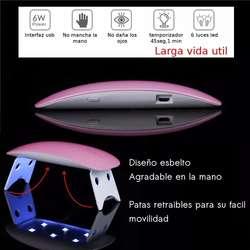 Lampara Uñas Led Sun Mini Uv Portátil Secadora Esmalte Gel