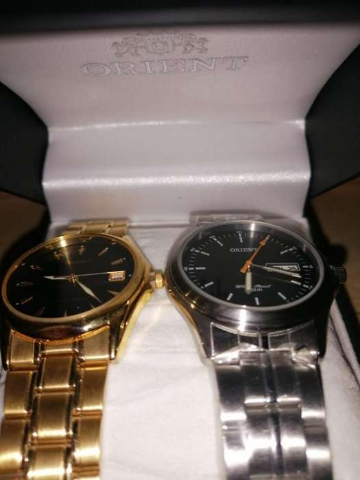 Vendo Relojes Orient Automatico Original