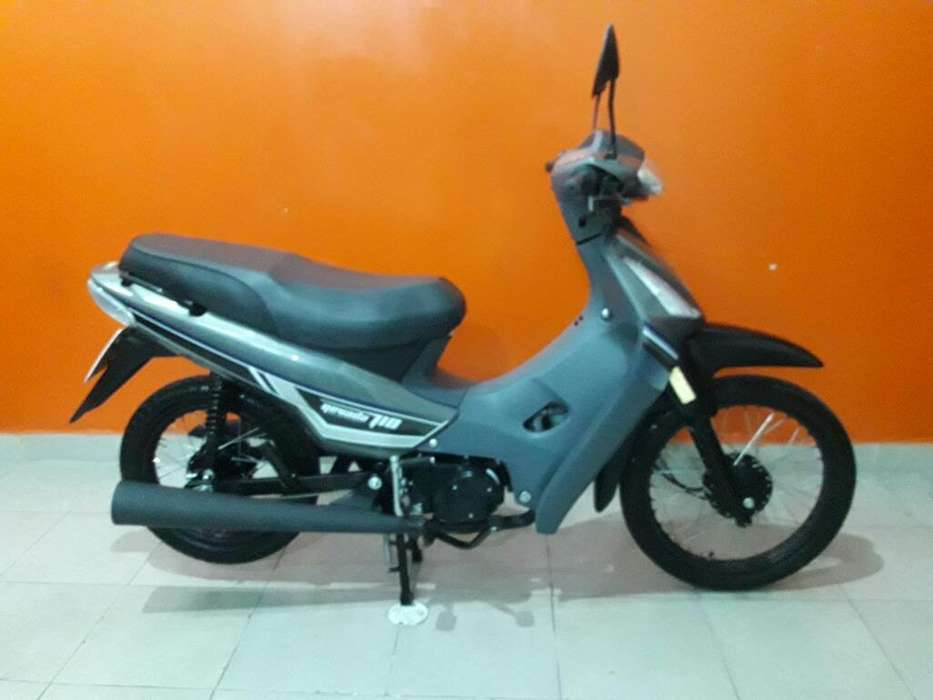 Barava 110 Mod 2018 5.000km Rbo <strong>moto</strong>s
