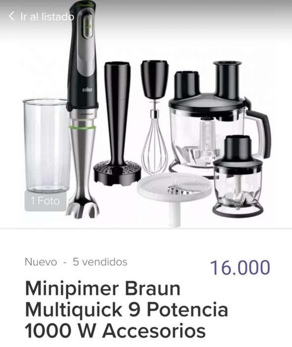 Minipimer Brown