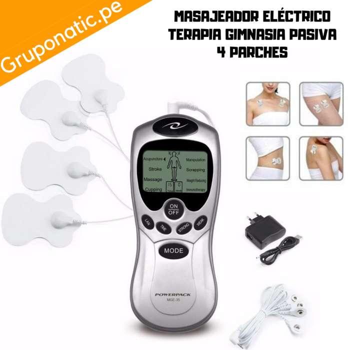 Masajeador Estimulador 4 Parches Gimnasia Gruponatic San Miguel Surquillo Independencia La Molina Whatsapp 941439370