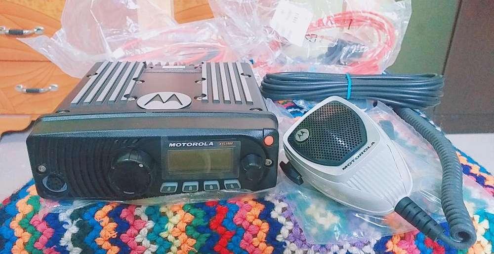 Vendo Radio Base Motorola Xtl 1500