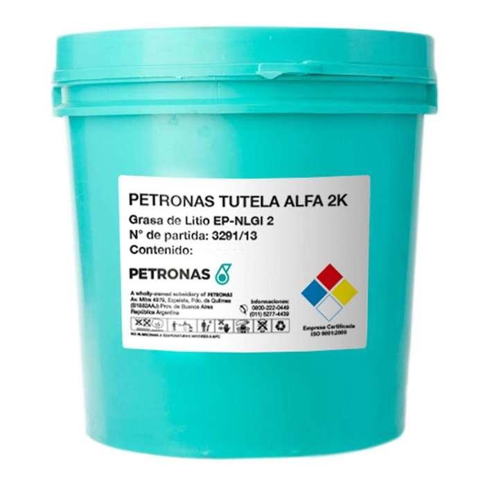 Grasa Petronas Tutela Alfa 2k Litio Ep Balde de 20 Kg