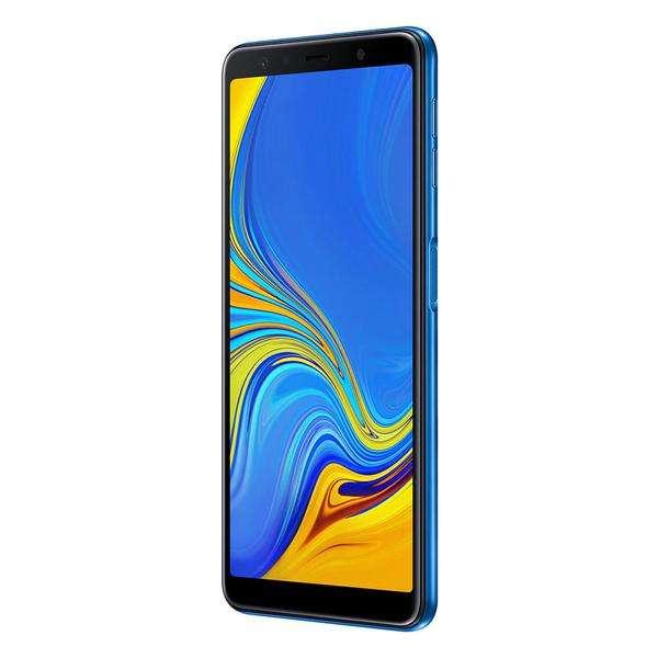 <strong>celular</strong> Samsung A7 2018 64gb Azul