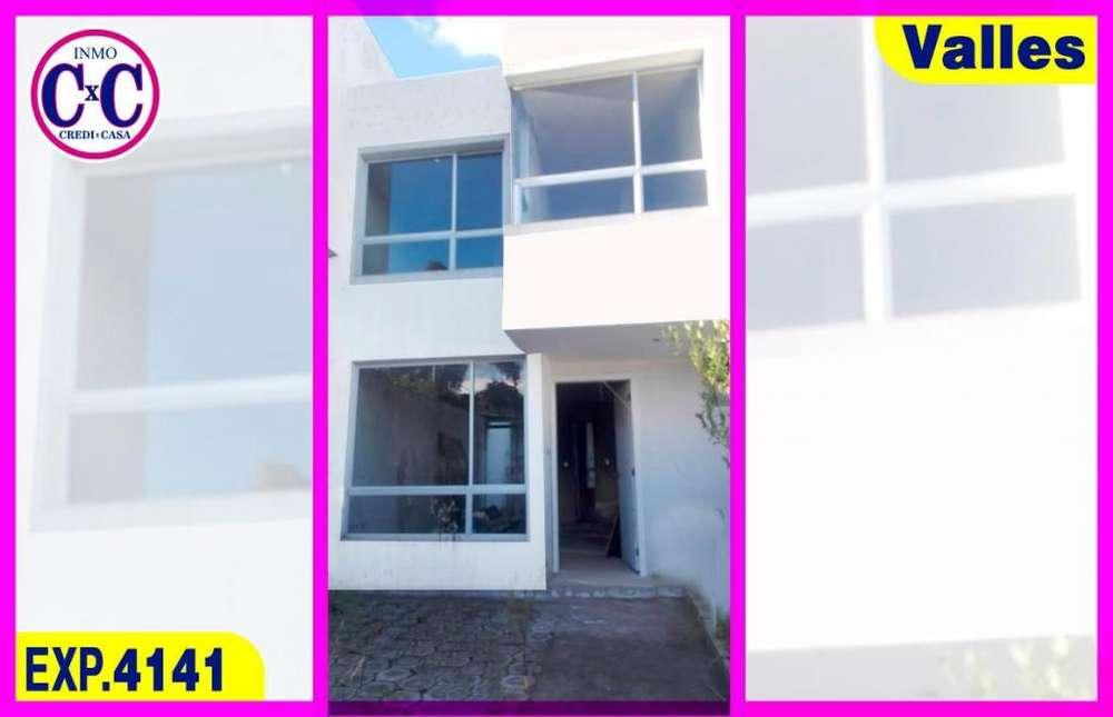 CxC Venta Casa en el Eden Del Valle, Valle, Exp.4141