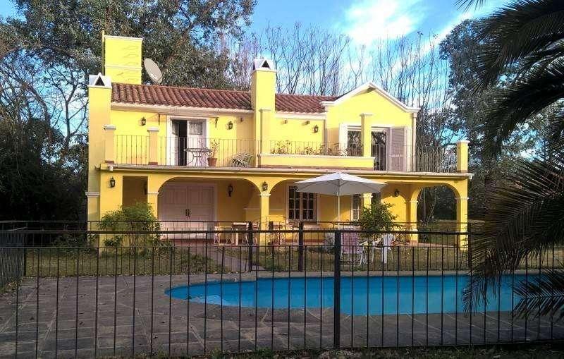 jf64 - Casa para 4 a 12 personas con pileta y cochera en San Lorenzo
