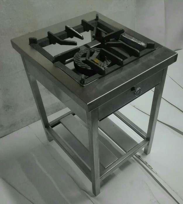 Cocina Industrial de Acero