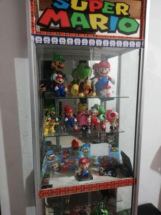 Colección Mario Bros 34 Figuras