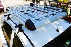 Barra parrilla portaequipaje de aluminio reforzada