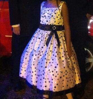 Vestido de Fiesta Americano Talla 10