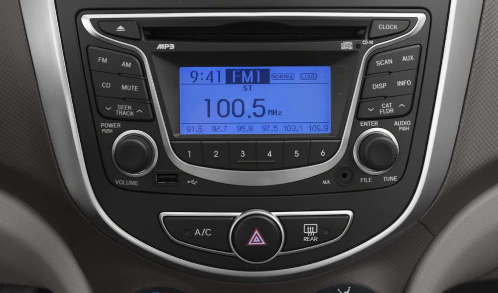 Radio Original de Hyundai Accent 2012
