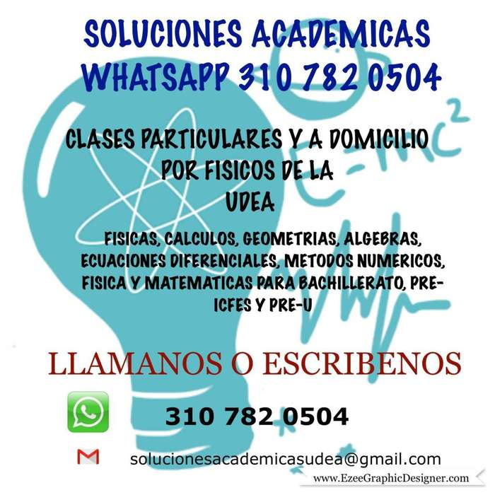 SOLUCIONES ACADÉMICAS WHATSAPP 3107820504