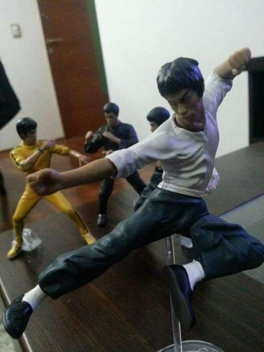 Set 4 Figuras Bruce Lee
