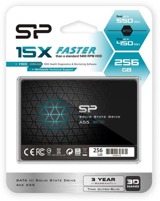 SSD 256 GB como nueva 1 semana de uso