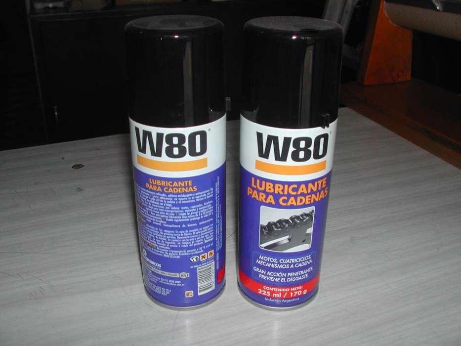 W80 Lubricante de cadenas x 225ml