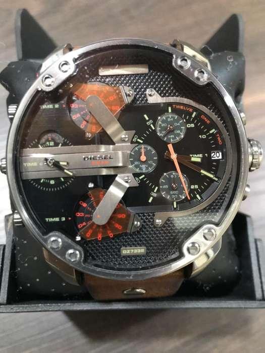 Reloj Diesel Mr. Daddy 2.0 DZ7332 Nuevo Para Hombre