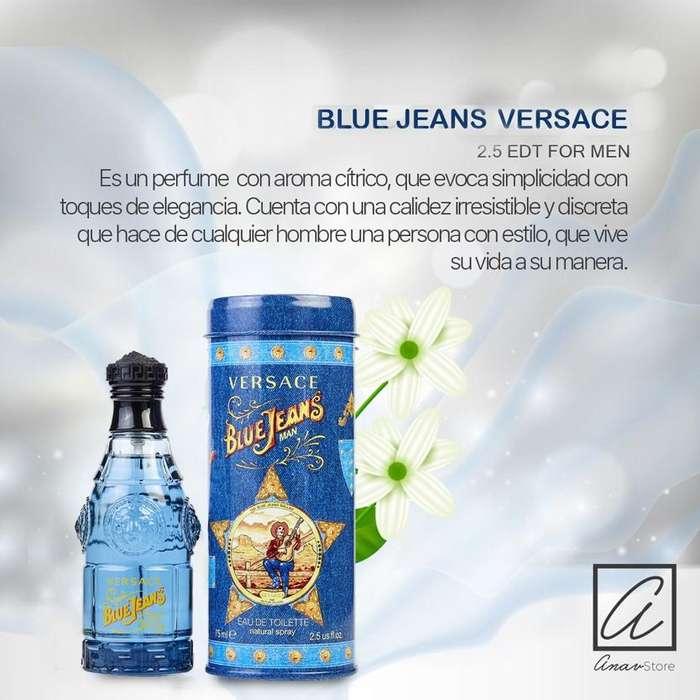 PERFUME BLUE JEANS VERSACE 75 ML EDT for men