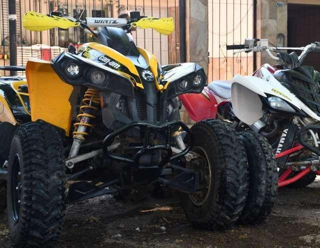 Can Am renegade 800cc 4x4 mod 2008 automatico patentado