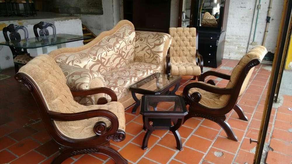 Sofa Galax 3 <strong>silla</strong>s Mas Mesa Centro