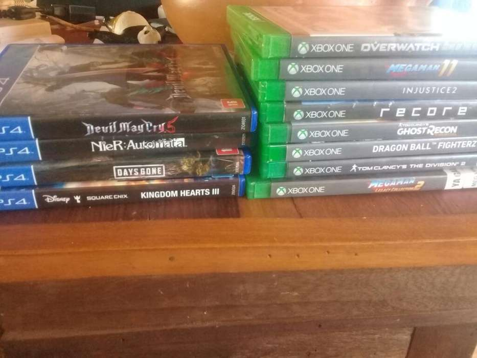 Juegos de Ps4 Xbox One