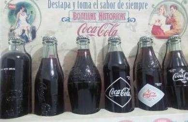 COLECCION COCA COLA 80 AÑOS