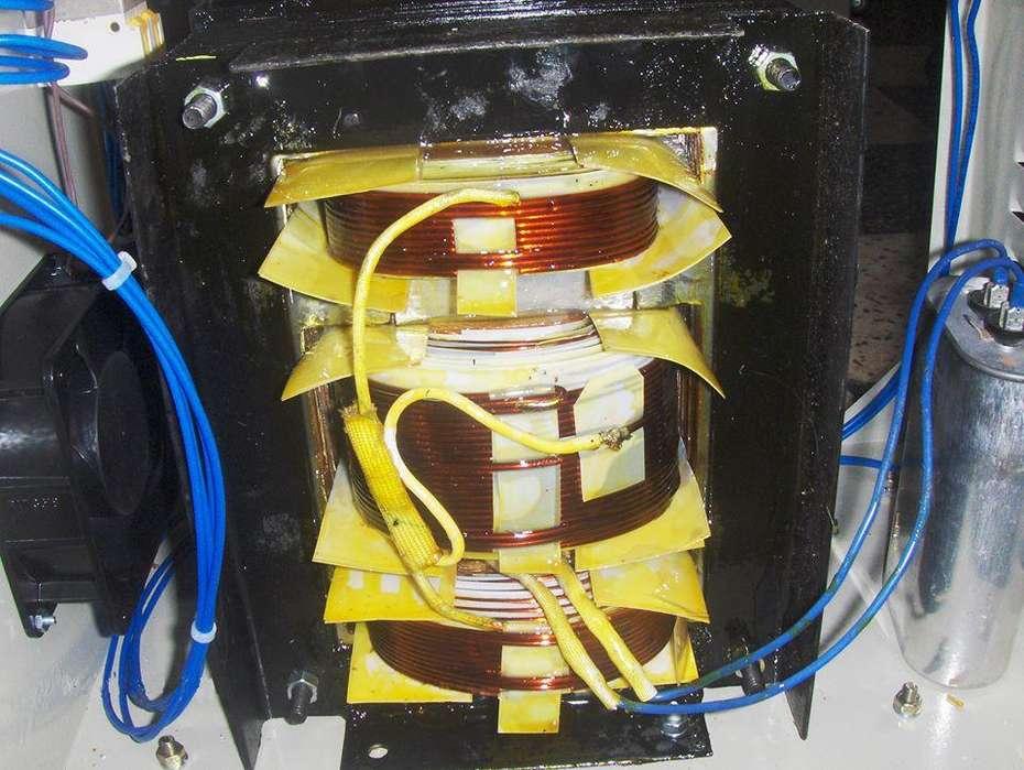mantenimiento de estabilizador ferroresonante