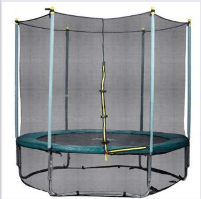 Trampolin de diametro 3 6m con proteccion