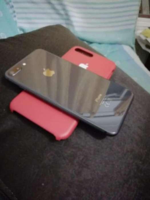 IPhone 8 Plus 64 Gb como nuevo caja y cargador original