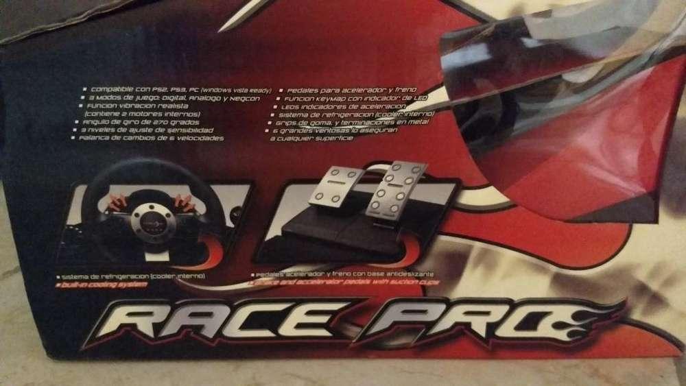 Volante Y Pedales para Ps2 , Ps3 O Pc