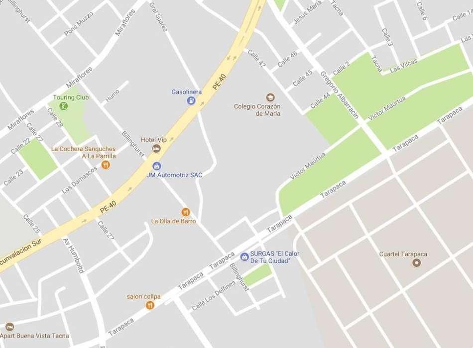 Vendo Terreno Residencial Comercial Av Circunvalacion/billinghurst - 6 Pisos Tacna