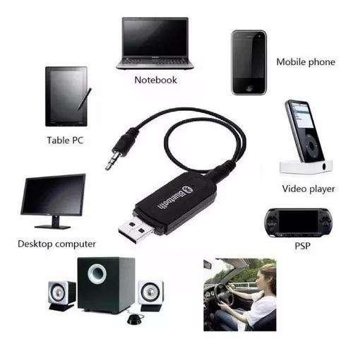 Receptor Bluetooth P/ Audio Parlante Estereo Dongle
