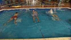Nadador Fijo ! Para Nadar Sin Parar En El Mismo Lugar