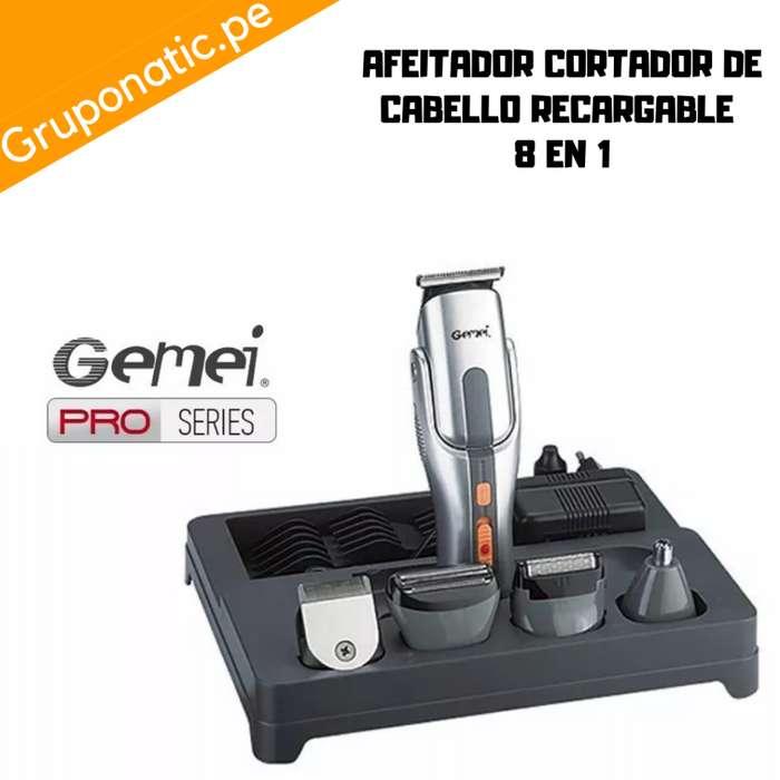Maquina Cortador cabello 8 En 1 Recargable Gruponatic San Miguel Surquillo Independencia La Molina Whatsapp 941439370
