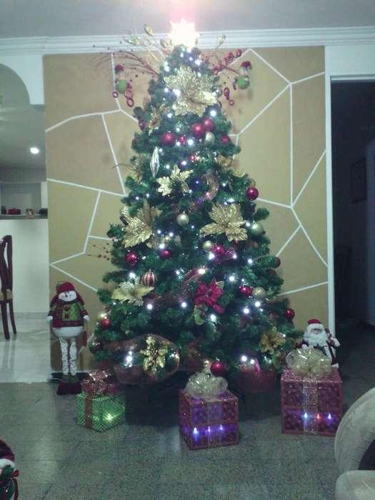 rbol de navidad 2 metros