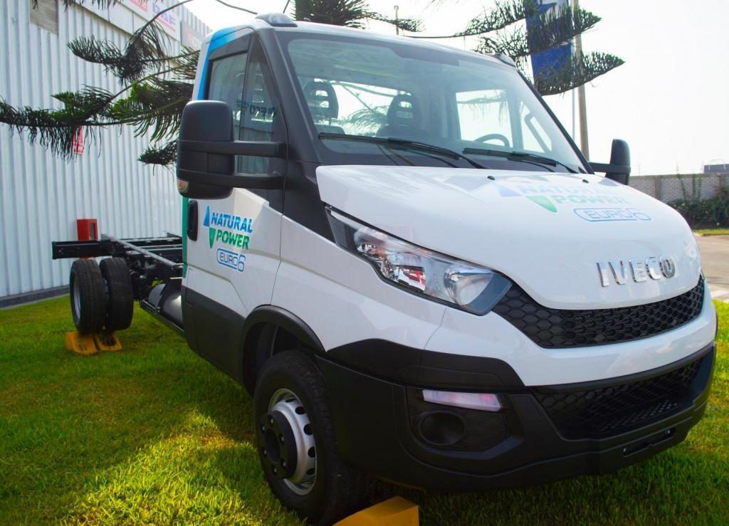 Camión Iveco Daily Cabinato 2015