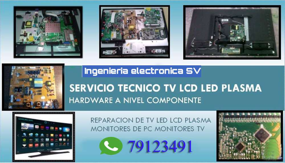 reparacion de tv plasma lcd y led