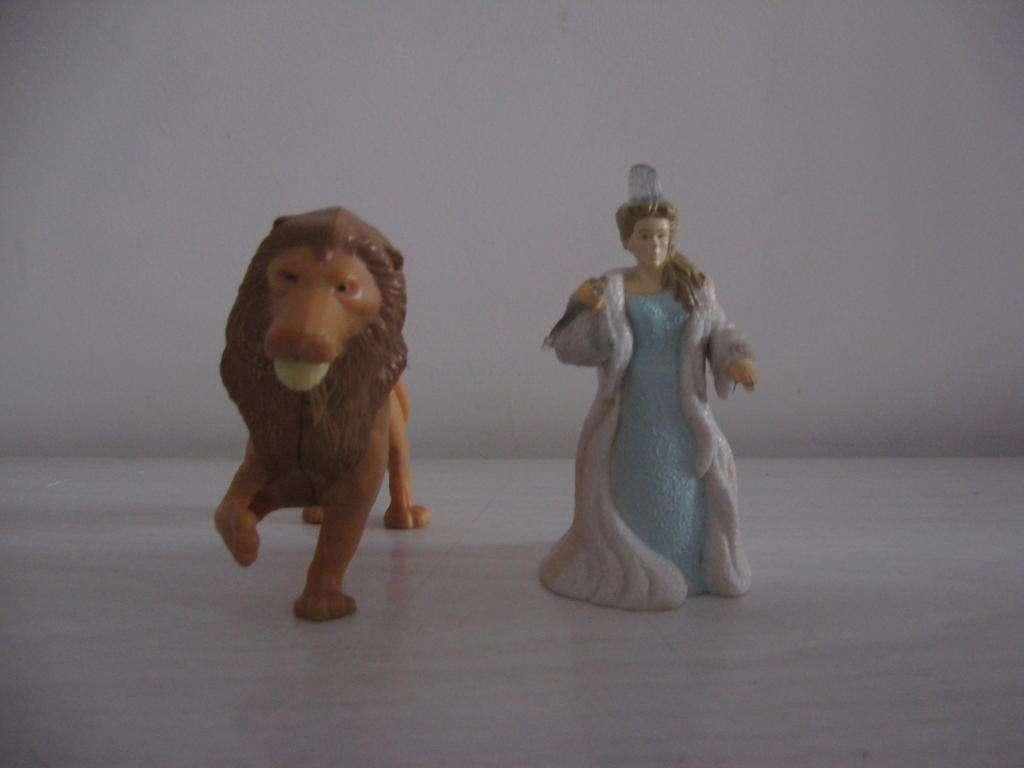 Aslan y Bruja blanca colección McDonald