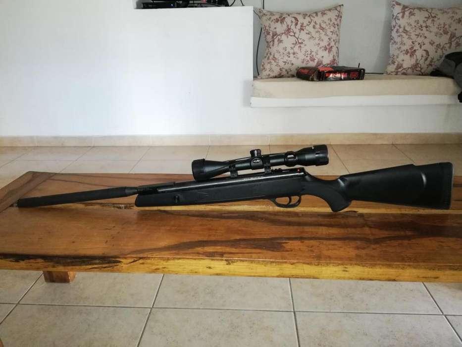 Rifle Aire Comprimido Webley Nitro Piston Vmx 55 Caza