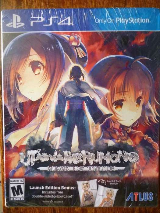 SONY PS4 UTAWARERUMONO MASK OF TRUTH LAUNCH EDITION NUEVO