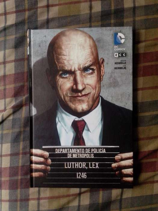 Lex Luthor Dc Comics Tapa Batman
