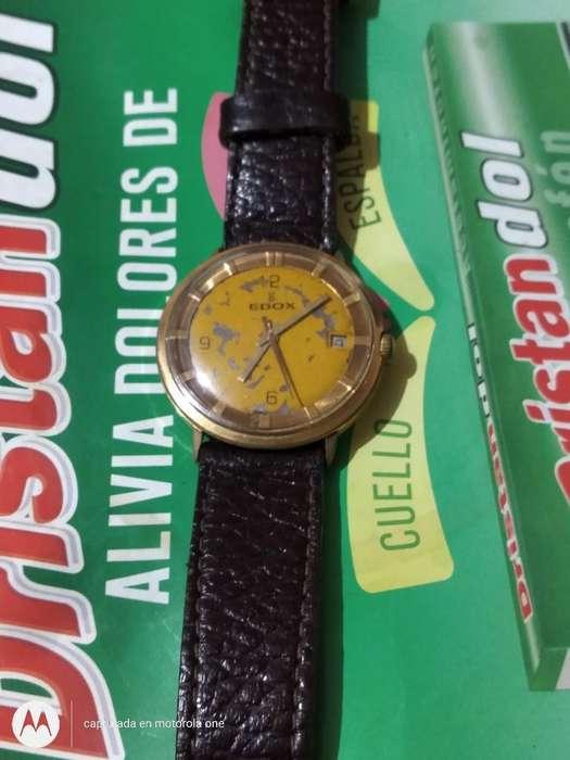 Reloj Edox Automático Suizo Original