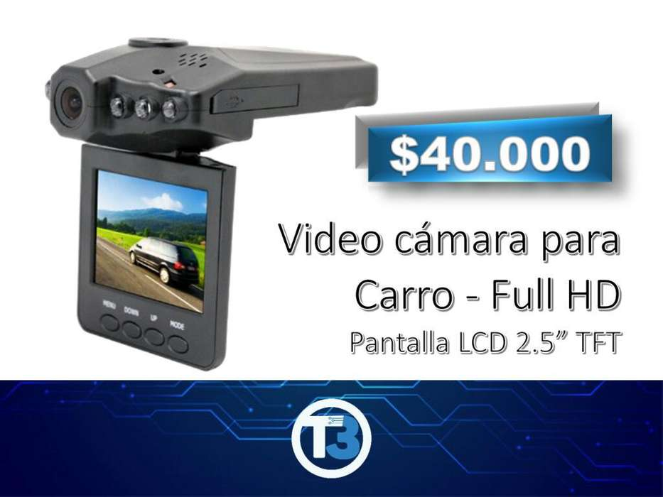 Video Cámara para Carro - Full Hd