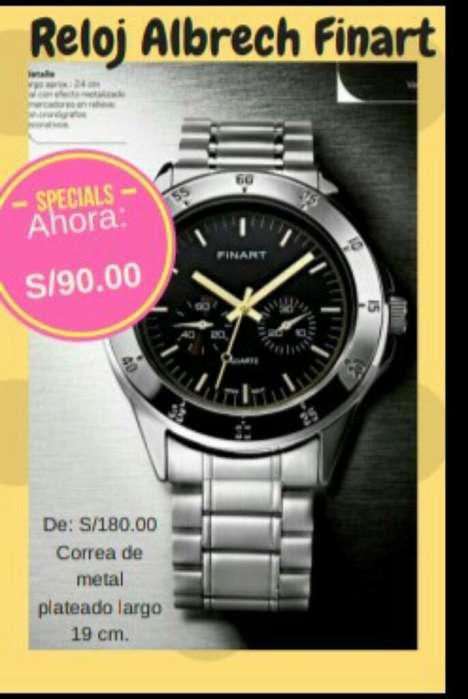 Reloj Caballero Finart Lbel