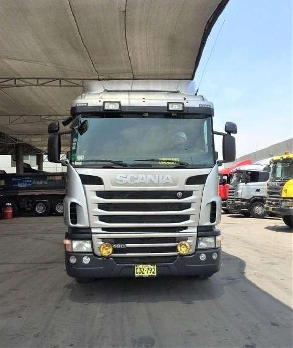 Camión Tracto Remolcador Scania G460 2012