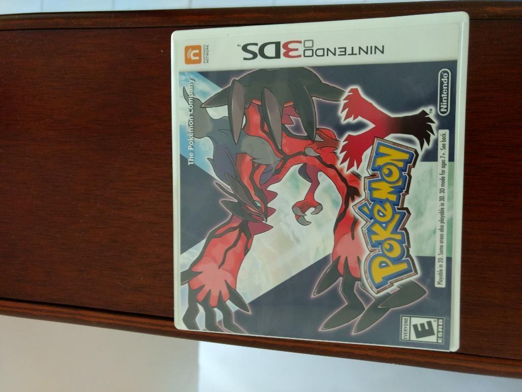 Juego Nintendo Pokémon Y