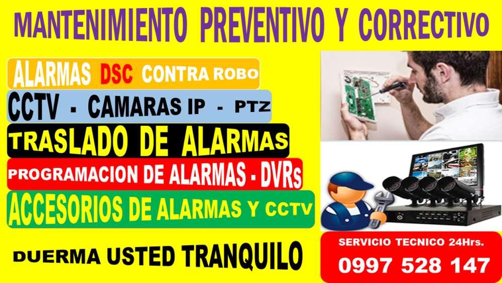 SERVICIO TECNICO ALARMAS